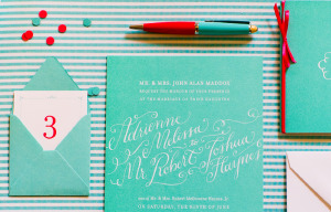 Tiffany-Blue-Wedding-Invitations-Holly-Holon6 OH SO BEAUTIFUL PAPER
