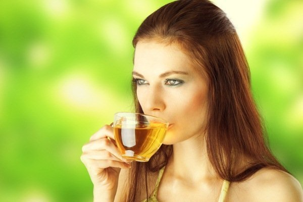 Drinking Green Tea2