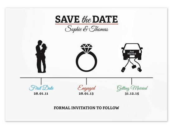 20 Save The Dates Incríveis Para Te Inspirar