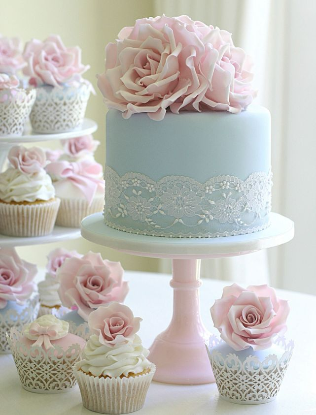 beautiful blue and pink wedding cakes 20 bolos incr 237 veis feitos flores de a 231 250 car 11206