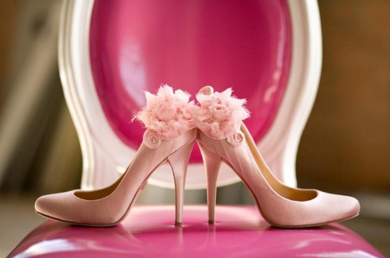pink-wedding-shoes
