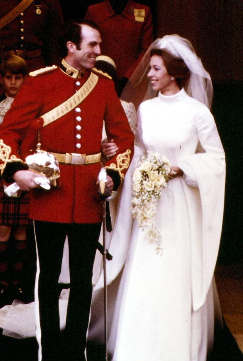 Princesa Anne e Capitão Mark Phillips