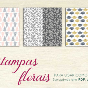kit casamento diy -  - demo estampas florais 300x300